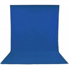 Фон студийный тканевый Visico PBM-1827 blue 1,8х2,7м